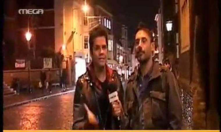 Γιώργος Τσαλίκης: Τραγούδησε αφιλοκερδώς για τους φοιτητές του Λονδίνου!