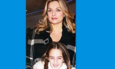 Άντζελα Γκερέκου: Στο θέατρο με την κόρη της