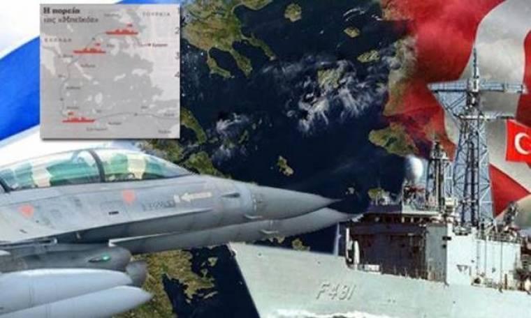 Οι Τούρκοι ετοιμάζονται να αρπάξουν το Αιγαίο
