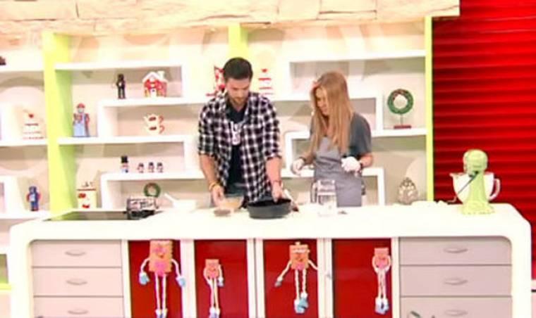 Video: Δείτε τη Ναταλία Γερμανού και τον Αλέξανδρο Παρθένη να μαγειρεύουν μαζί!