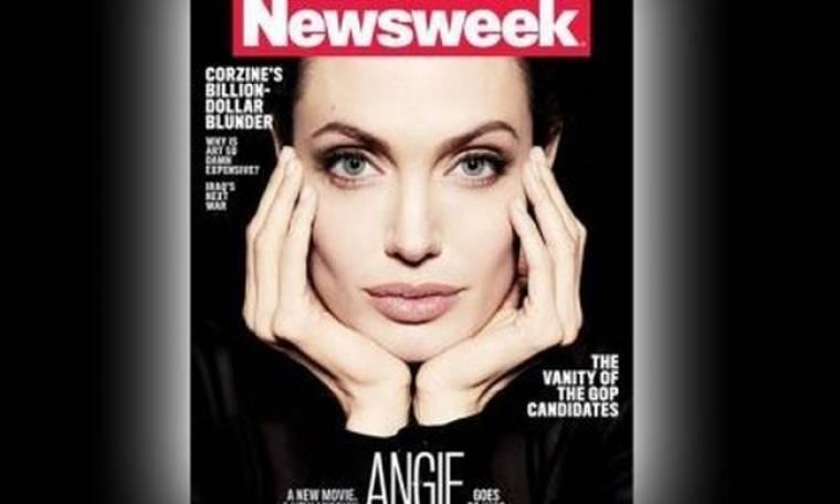 Η Angelina Jolie από το Newsweek στην Christian Amanpour