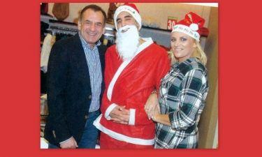 Χριστίνα Λαμπίρη: Ο Άι Βασίλης ήρθε πιο νωρίς!