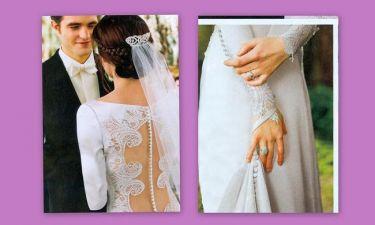 Πόσα κουμπιά έχει το νυφικό της Bella από το «Twilight»;