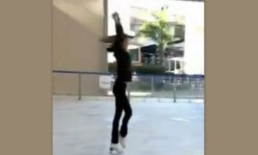 Video: Ποια πολύ γνωστή Ελληνίδα tv persona υπήρξε πρωταθλήτρια στο πατινάζ;