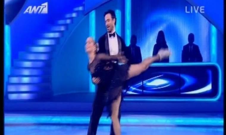 Video: Dancing on ice: Η άτυχη στιγμή του Χριστοφόρου