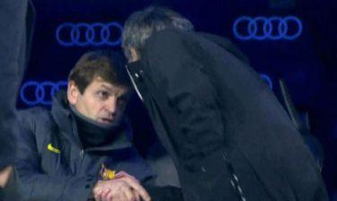 Μετά το δάχτυλο στο… μάτι, ο Μουρίνιο έδωσε το χέρι του στον Βιλανόβα!