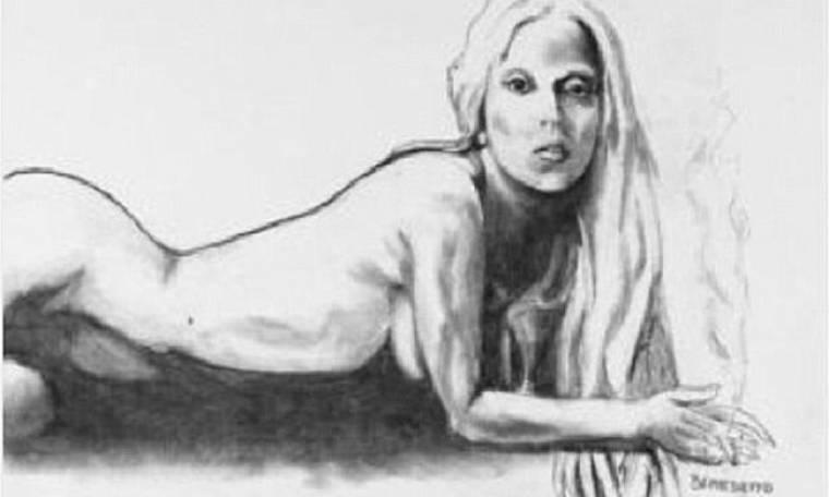 Ποιος ζωγράφισε αυτό το γυμνό πορτρέτο της Lady Gaga;