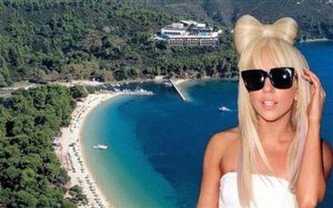 Η Lady Gaga στη Σκιάθο!