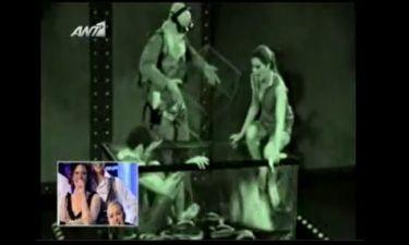 Backstage από το «Blackout» των επωνύμων στο «Dancing On Ice»