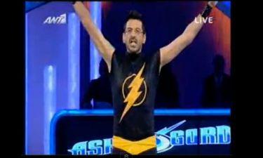 """Ο Μιθριδάτης ως άλλος… """"Flash Gordon"""" στο «Dancing on ice»"""