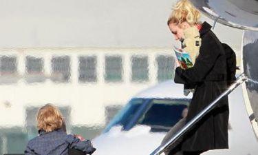 Britney Spears: Οι εορτασμοί τέλος, πίσω στη βάση