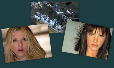 Η Scarlett Johansson, η Βιβή Μαστραλέξη και τα… πουλιά!