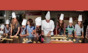 Βανδή-Κοκκίνου: Έγιναν για λίγο «Master Chef Junior» (φωτό)