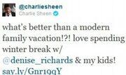 Charlie Sheen: Διακοπές με την πρώην!