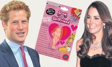 Φουσκωτή κούκλα το δώρο της Kate Middleton στον Harry!