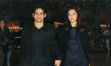 Χέρι χέρι ο Οδυσσέας Παπασπηλιόπουλος με την σύζυγό του