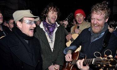 Ο Bono έκανε έκπληξη στους Δουβλινέζους