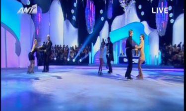 Χωρίς αποχώρηση το σημερινό live του Dancing On Ice