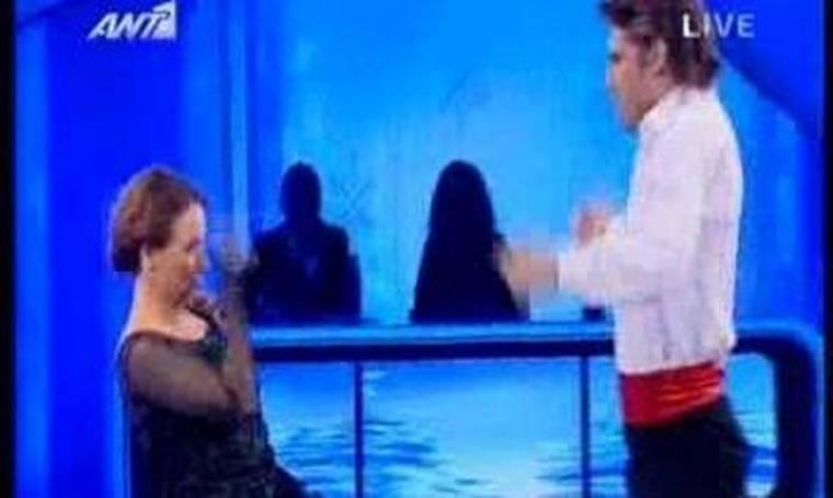Video: Η Μαρία Ανδρούτσου guest στον… πάγο του Dancing!
