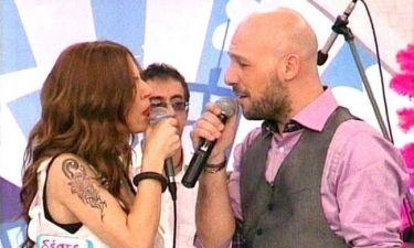 Video: Τραγούδησαν μαζί Ευρυδίκη - Μουτσινάς