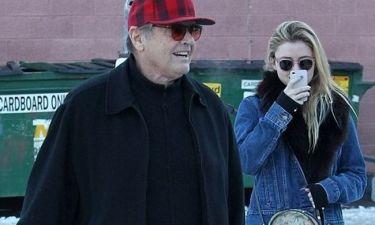 Ο Jack Nicholson με την κόρη του στο Άσπεν