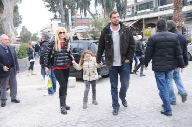 Δημήτρης Παπανικολάου: Στη Γλυφάδα με την οικογένειά του