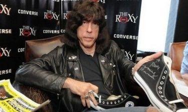 Ο ντράμερ των θρυλικών Ramones στην Αθήνα