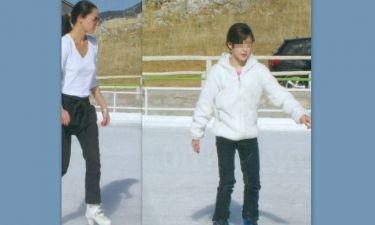 Εύη Αδάμ: Dancing on ice με την κόρη της