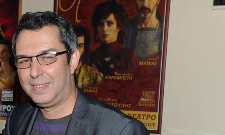 Χρήστος Χατζηπαναγιώτης: «Η λέξη ηθοποιός είναι ταυτόσημη με τη λέξη στέρηση»