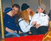 Οι ευτυχισμένες γιορτές του Νίκου Σαμοΐλη με την οικογένειά του (φωτό)