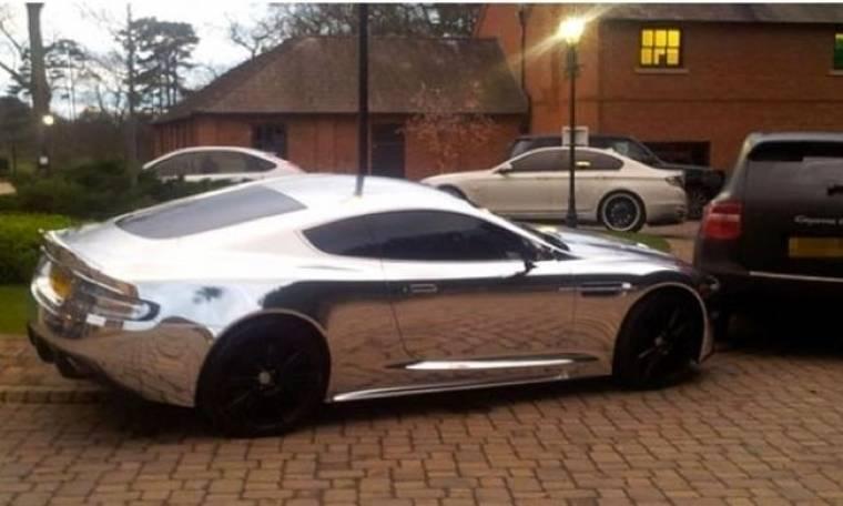 Σε ποιον ποδοσφαιριστή ανήκει αυτό το αυτοκίνητο;