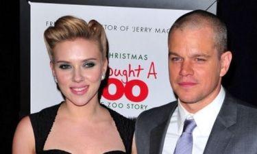 Video: Scarlett Johansson και Matt Damon, τι ζώα θα ήταν;