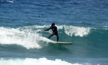 Πρωτοχρονιά στα κύματα για τον Γιώργο Χρανιώτη