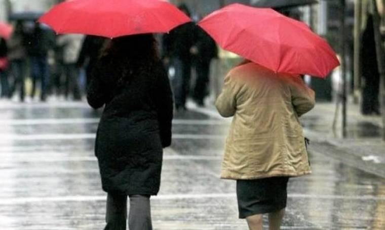 Βροχές και τσουχτερό κρύο την Πρωτοχρονιά