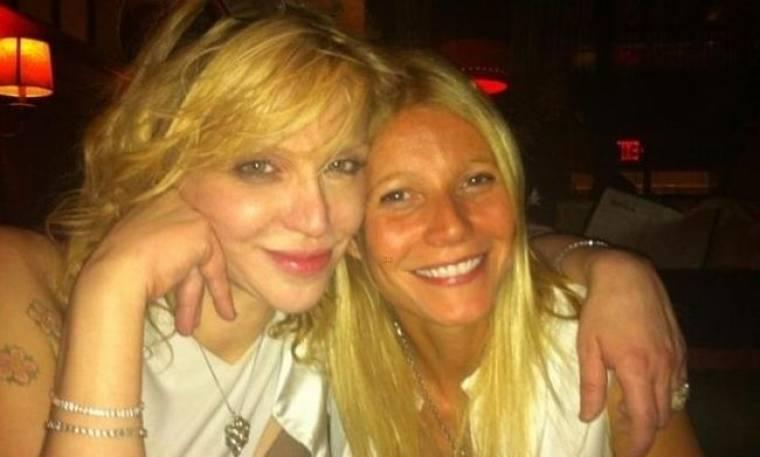 Gwyneth Paltrow: Μαζί με την Courtney Love την Πρωτοχρονιά
