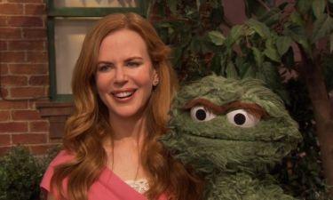 Η Nicole Kidman στο Sesame Street