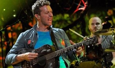 Οι Coldplay στην κορυφή για το 2012