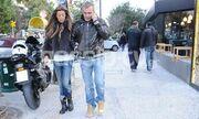 Στέλιος Ρόκκος: Βόλτα με την αγαπημένη του
