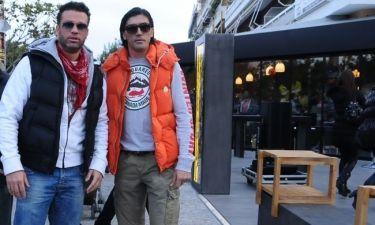 Γιάννης Αμανατίδης-Κώστας Σόμμερ: Συνάντηση στη Γλυφάδα