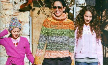 Εύη Αδάμ: Σαββατοκύριακο με τις κόρες της και… πατινάζ
