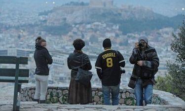 Όταν ο Ashton Kutcher επισκέφτηκε την  Βουλή των Ελλήνων!(φωτό)