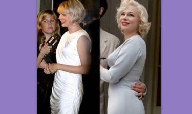 Πως η Michelle Williams απέκτησε το μπούστο της Marilyn;