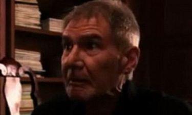 Τι είδε και τρόμαξε ο Harrison Ford;