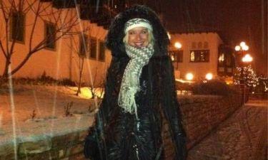 Πού βρίσκεται τώρα η Μαρία Μπεκατώρου και... χιονίζει;