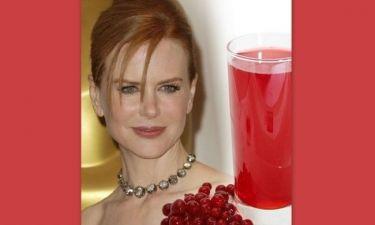 Cranberry: Το μυστικό της Nicole Kidman για πυρόξανθα μαλλιά