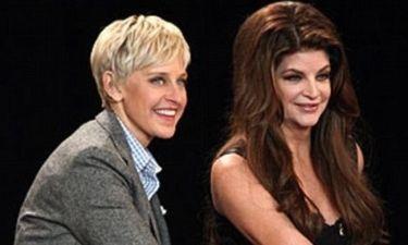 Τι δώρο έκανε η Ellen DeGeneres στη Kirstie Alley;