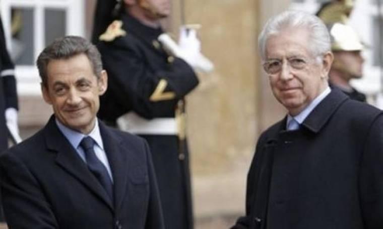 Σαρκοζί: Ταύτιση απόψεων Γαλλίας και Ιταλίας για το μέλλον της E.E