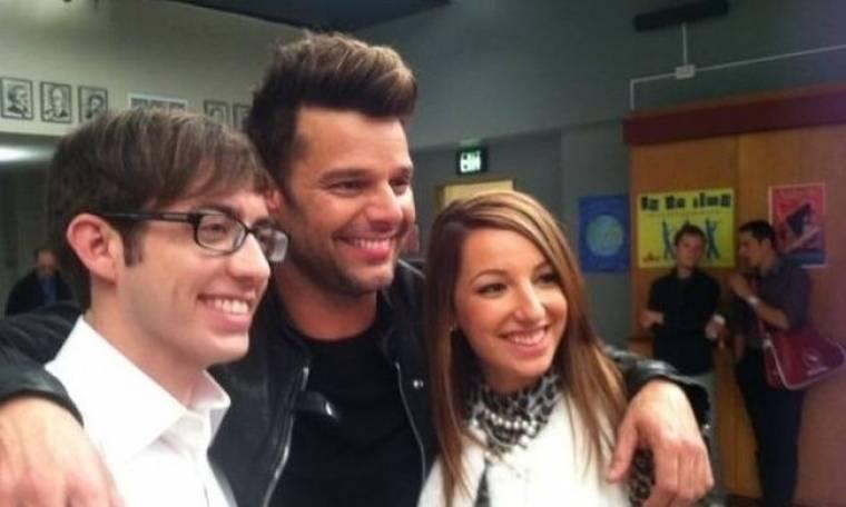 Όταν ο Ricky Martin πήγε στο Glee