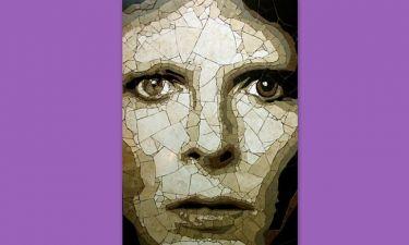 Ένα ψηφιδωτό πορτρέτο του David Bowie δώρο γενεθλίων