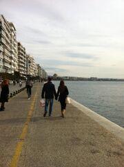 Χρηστίδου-Καμπούρη: Σαββατοκύριακο στη Θεσσαλονίκη (φωτό)